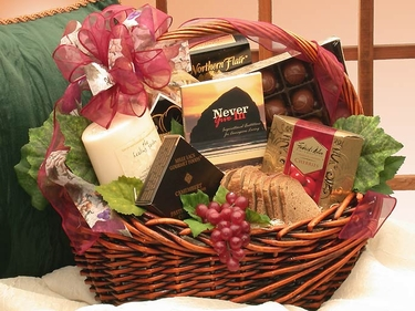 With Sincere Sentiments Condolence Basket