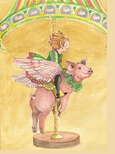 Piggy Carousel: St. Patrick's Day
