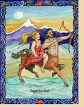 SAGITTARIUS:  November 23-December 21