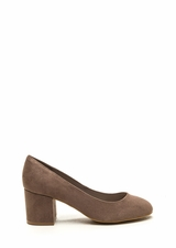 Office Chic Chunky Block Pumps