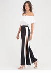 Time To Split Colorblock Palazzo Pants