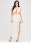 Go With The Flow Tied Two-Piece Maxi