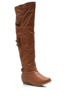 4-Play Buckle Riding Boots