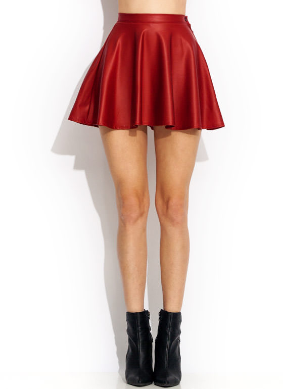 Feb 01,  · Faux Leather Skirt. Fantastic quality faux leather skater skirt. Look super sexy in this amazing top quality faux leather skirt featuring eye-catching
