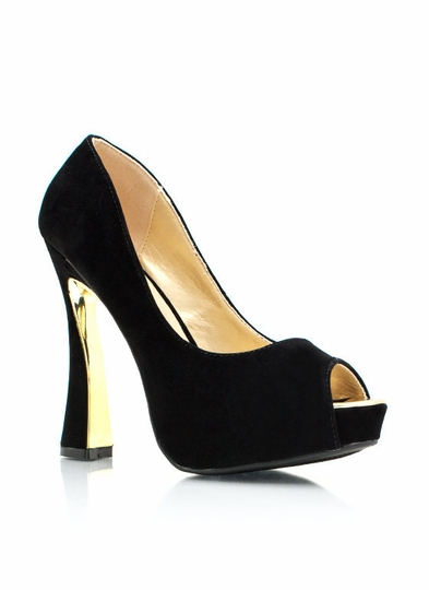 A Flared Affair Pumps