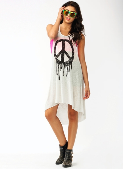 A Little Peace Twisted Dress