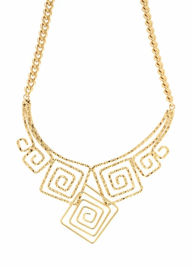 A-maze-ing Square Necklace Set