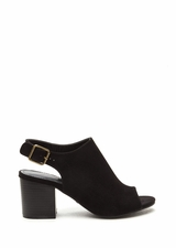 Afternoon Delight Faux Suede Heels