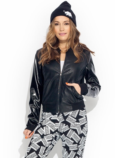 All Mixed Up Bomber Jacket