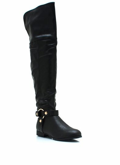 All Over-The-Knee Riding Boots