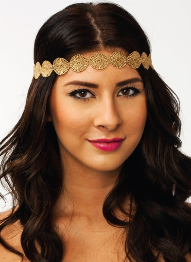 All That Glitters Disc Headband