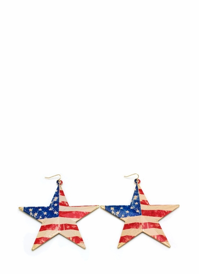 Americana Star Spangled Earrings