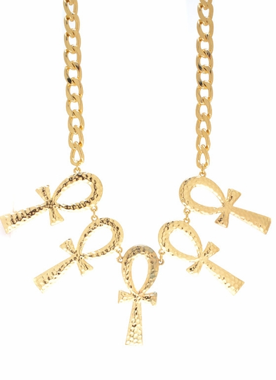 Ankh For Peace Necklace Set