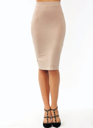 Anywhere Anytime Pencil Skirt