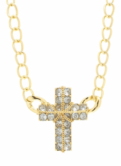 Are You Cross Necklace Set