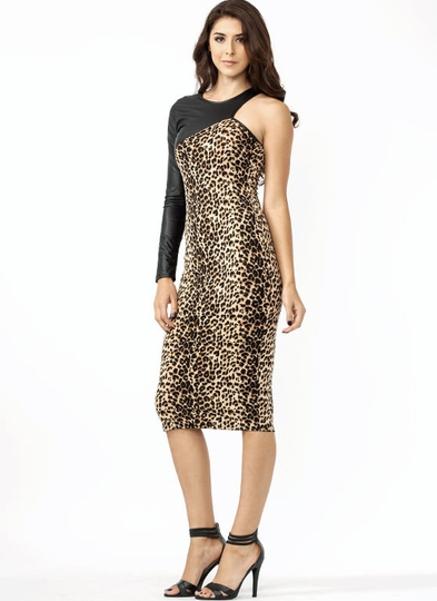 Armed And Dangerous Leopard Dress