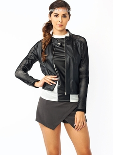Arms Length Mesh Moto Jacket
