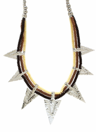 Arrow Tribal Necklace Set