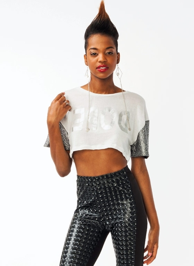 Back 2 Dope Cropped Top