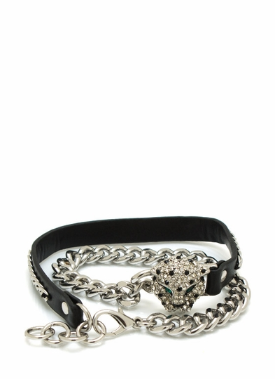 Bad Kitty Wraparound Bracelet