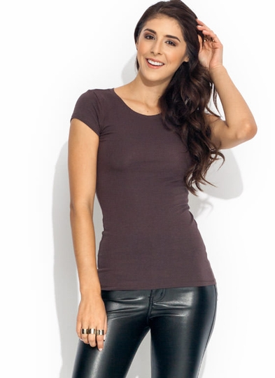 Basic Babe Crew Neck Tee