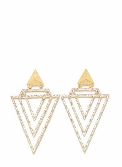 Basic Geometry Oversized Earrings