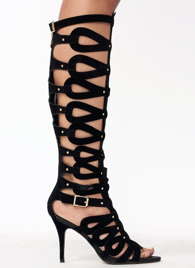 Be In The Loops Gladiator Heels