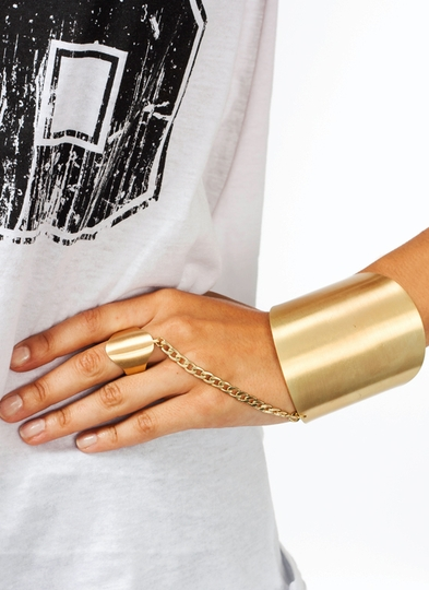 Be My Shield Hand Bracelet
