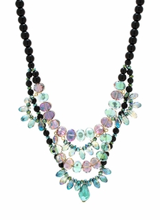 Bead-Jeweled Necklace Set