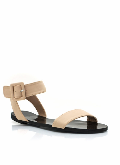 Big Buckles Dont Lie Sandals