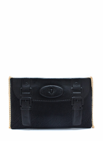 Big Faker Buckle Clutch
