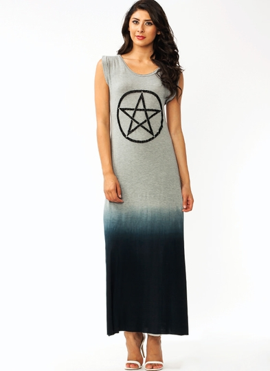 Black Magic Maxi Dress