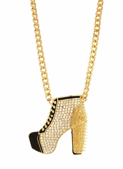 Bootie Poppin Necklace