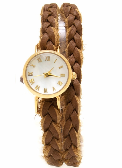 Braided Wraparound Watch