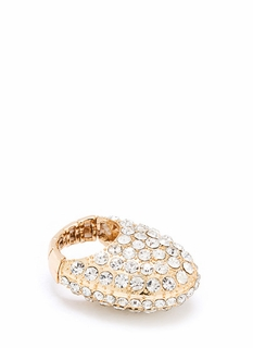 Bubble Arch Glitzy Ring