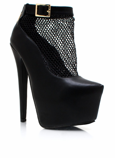 Cast Your Net Platform Booties