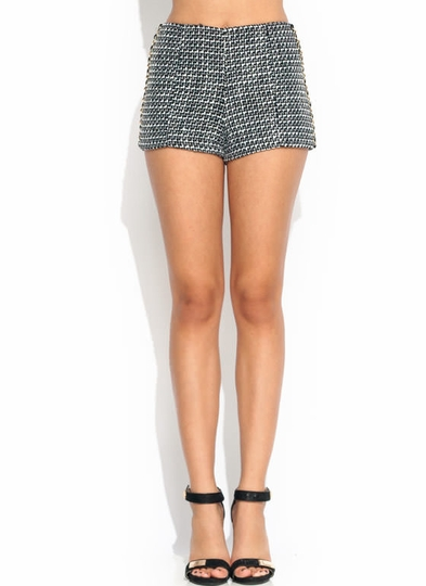 Chain-ge It Up Woven Shorts