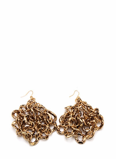 Chain The Leopard Earrings