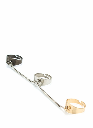 Chained Ring Trio