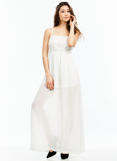 Chiffon On And On Palazzo Jumpsuit