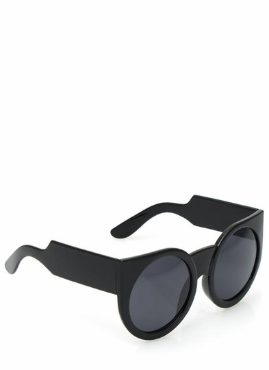 Chunky Exaggerated Round Sunglasses