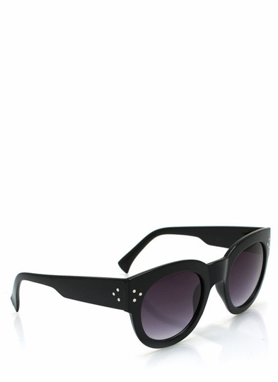 Chunky Kitty Cat Eye Sunglasses