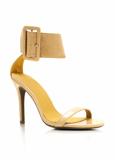 City Slicker Ankle Cuff Heels