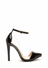 Clear The Way Pointy Pumps