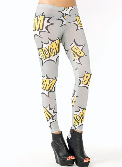 Comic Boom Leggings