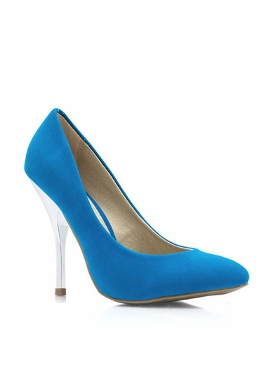 Cool Your Heels Accent Pumps