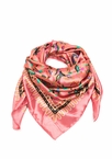 Pretty In Paisley Square Satin Scarf