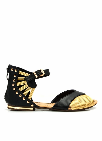 Corded N Studded Sandals