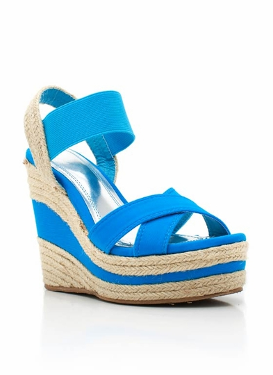 Crisscross Espadrille Wedge