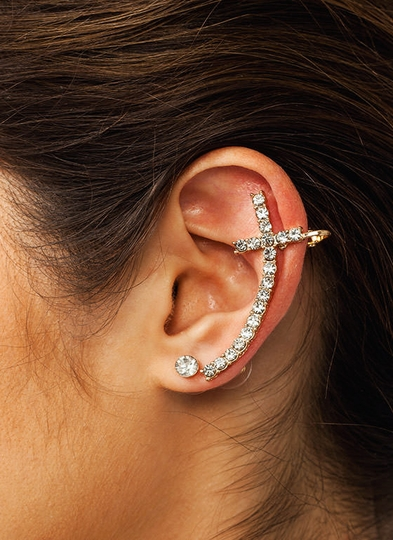 Crossing My Mind Ear Cuff Set